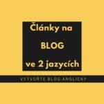 blog anglicky